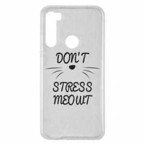 Etui na Xiaomi Redmi Note 8 Don't stress meowt