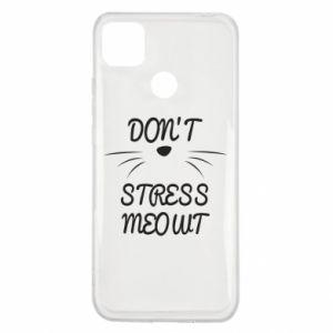 Etui na Xiaomi Redmi 9c Don't stress meowt