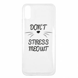 Etui na Xiaomi Redmi 9a Don't stress meowt