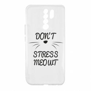 Etui na Xiaomi Redmi 9 Don't stress meowt