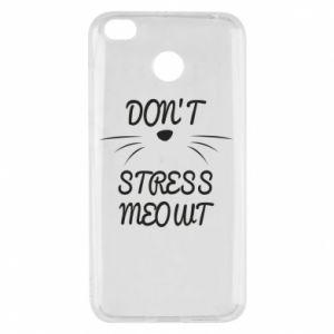 Etui na Xiaomi Redmi 4X Don't stress meowt