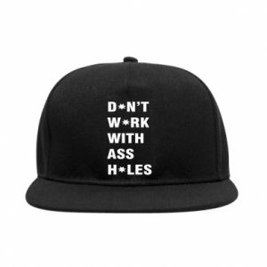 SnapBack Don't work with ass holes