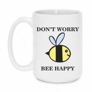 Kubek 450ml Don't worry bee happy