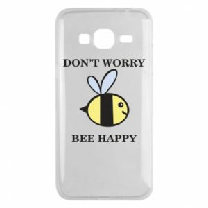 Etui na Samsung J3 2016 Don't worry bee happy