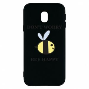 Etui na Samsung J3 2017 Don't worry bee happy