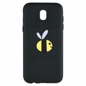Etui na Samsung J5 2017 Don't worry bee happy