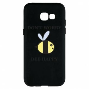 Etui na Samsung A5 2017 Don't worry bee happy