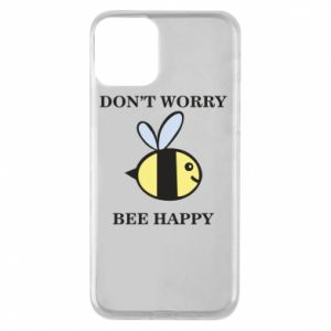 Etui na iPhone 11 Don't worry bee happy