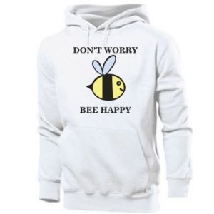 Męska bluza z kapturem Don't worry bee happy