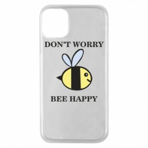 Etui na iPhone 11 Pro Don't worry bee happy