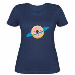 Damska koszulka Donut planet