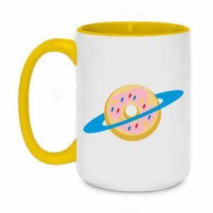Kubek dwukolorowy 450ml Donut planet
