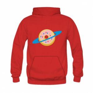 Bluza z kapturem dziecięca Donut planet