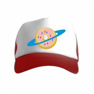 Czapka trucker dziecięca Donut planet