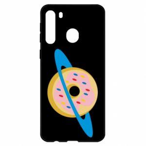 Etui na Samsung A21 Donut planet