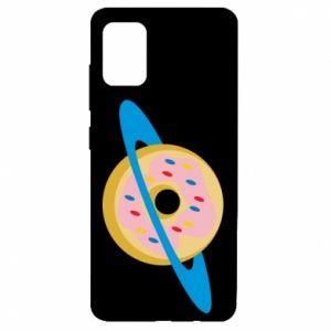 Etui na Samsung A51 Donut planet