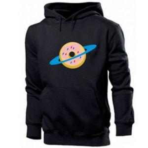 Męska bluza z kapturem Donut planet