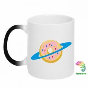 Kubek-kameleon Donut planet