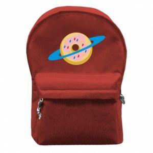 Plecak z przednią kieszenią Donut planet
