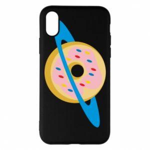 Etui na iPhone X/Xs Donut planet