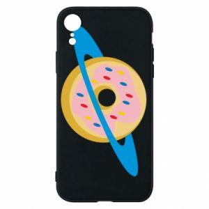 Etui na iPhone XR Donut planet