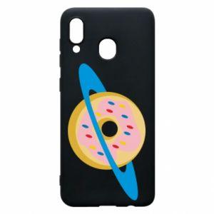 Etui na Samsung A20 Donut planet