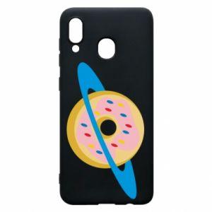 Etui na Samsung A30 Donut planet