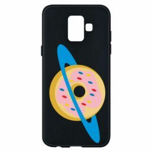 Etui na Samsung A6 2018 Donut planet