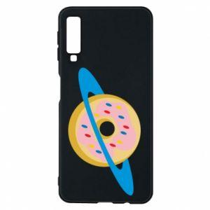 Etui na Samsung A7 2018 Donut planet
