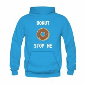 Bluza z kapturem dziecięca Donut stop me