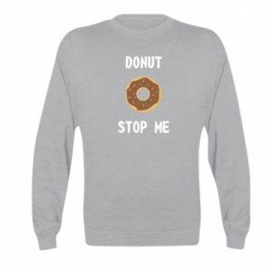 Bluza dziecięca Donut stop me