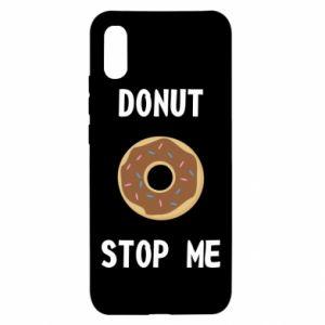 Xiaomi Redmi 9a Case Donut stop me