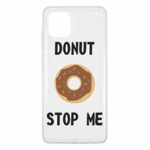 Etui na Samsung Note 10 Lite Donut stop me