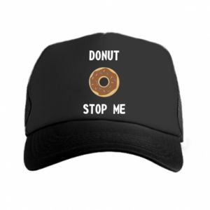 Czapka trucker Donut stop me