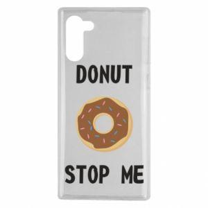 Etui na Samsung Note 10 Donut stop me