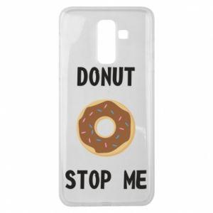 Etui na Samsung J8 2018 Donut stop me
