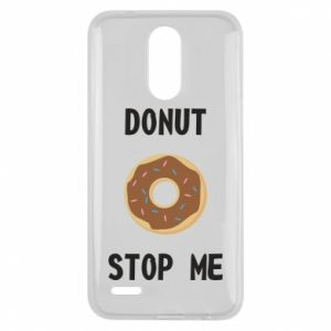 Etui na Lg K10 2017 Donut stop me