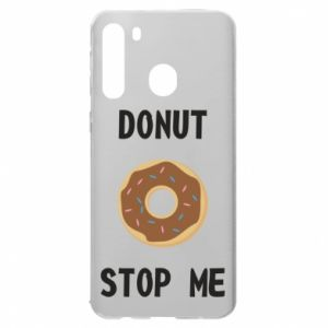 Etui na Samsung A21 Donut stop me