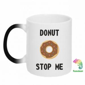 Kubek-kameleon Donut stop me