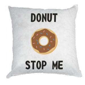 Poduszka Donut stop me