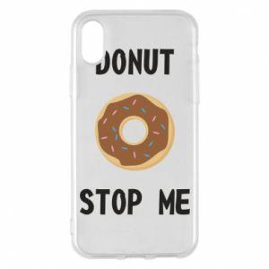 Etui na iPhone X/Xs Donut stop me