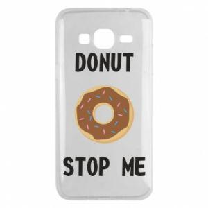 Etui na Samsung J3 2016 Donut stop me