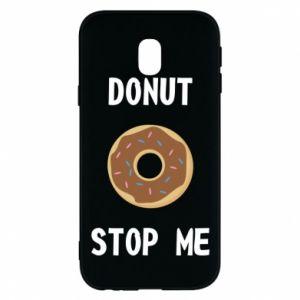 Etui na Samsung J3 2017 Donut stop me