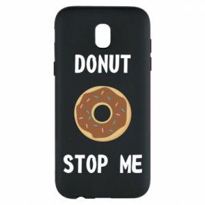 Etui na Samsung J5 2017 Donut stop me