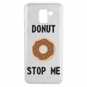 Etui na Samsung J6 Donut stop me