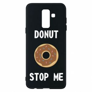 Etui na Samsung A6+ 2018 Donut stop me