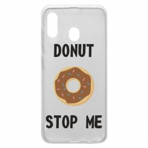 Etui na Samsung A20 Donut stop me