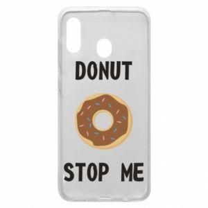 Etui na Samsung A30 Donut stop me