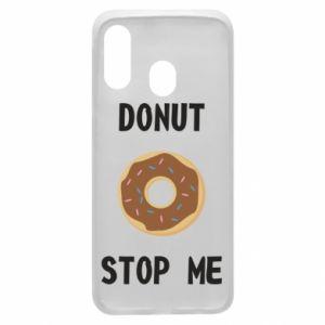 Etui na Samsung A40 Donut stop me