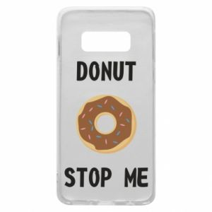 Etui na Samsung S10e Donut stop me